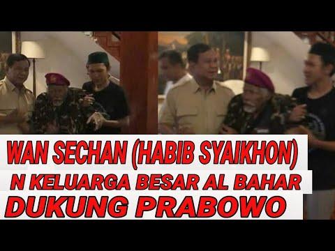 HBB SYAIKHON (WAN SECHAN) HABIB MAJDZUB  N MAJELIS AL-BAHAR DUKUNG PRABOWO-SANDI;PILPRES 2019;JOKOWI
