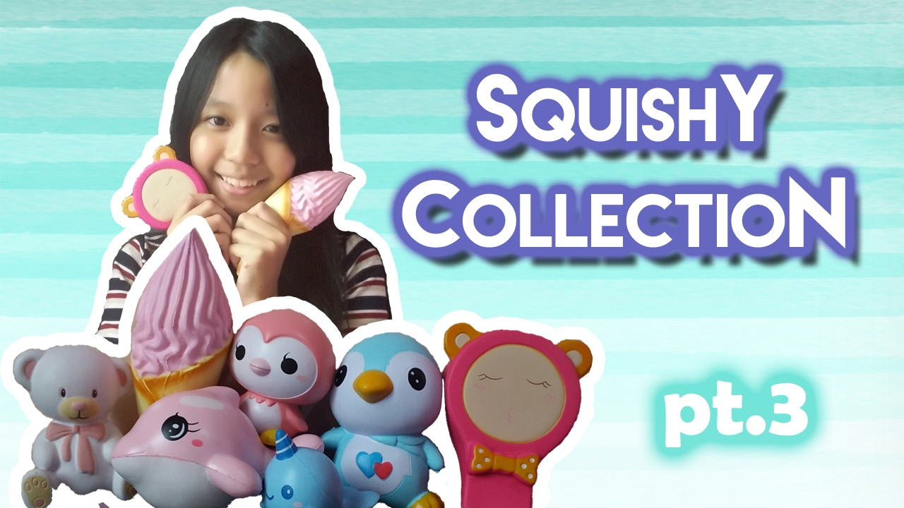 My Squishy Collection Pt.3 LalaLeen - YouTube