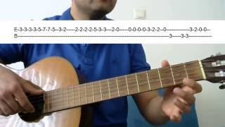 Gitar Dersi - Ben Yoruldum Hayat (Mümin Sarıkaya)