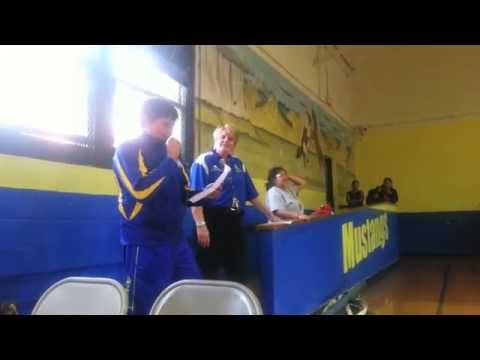 Middle School Student Council Speeches 2014 - Little Wound School
