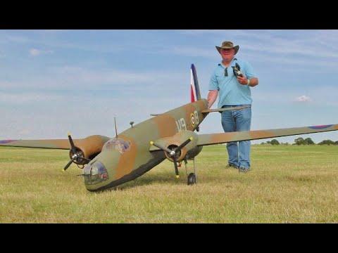 Download VICKERS WELLINGTON BOMBER WW2 RC DISPLAY - 2 x ZENOAH 26cc - STOW MARIES WW1 AERODROME - 2021