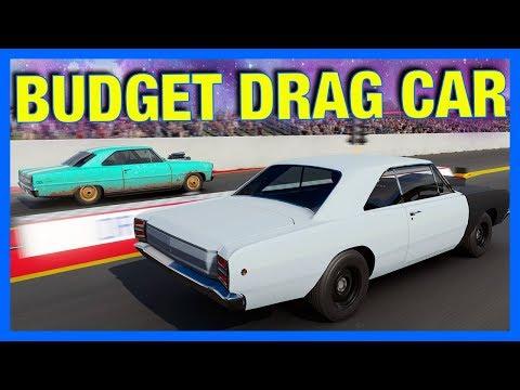 Forza 7 Online : BUDGET DRAG CAR CHALLENGE!!