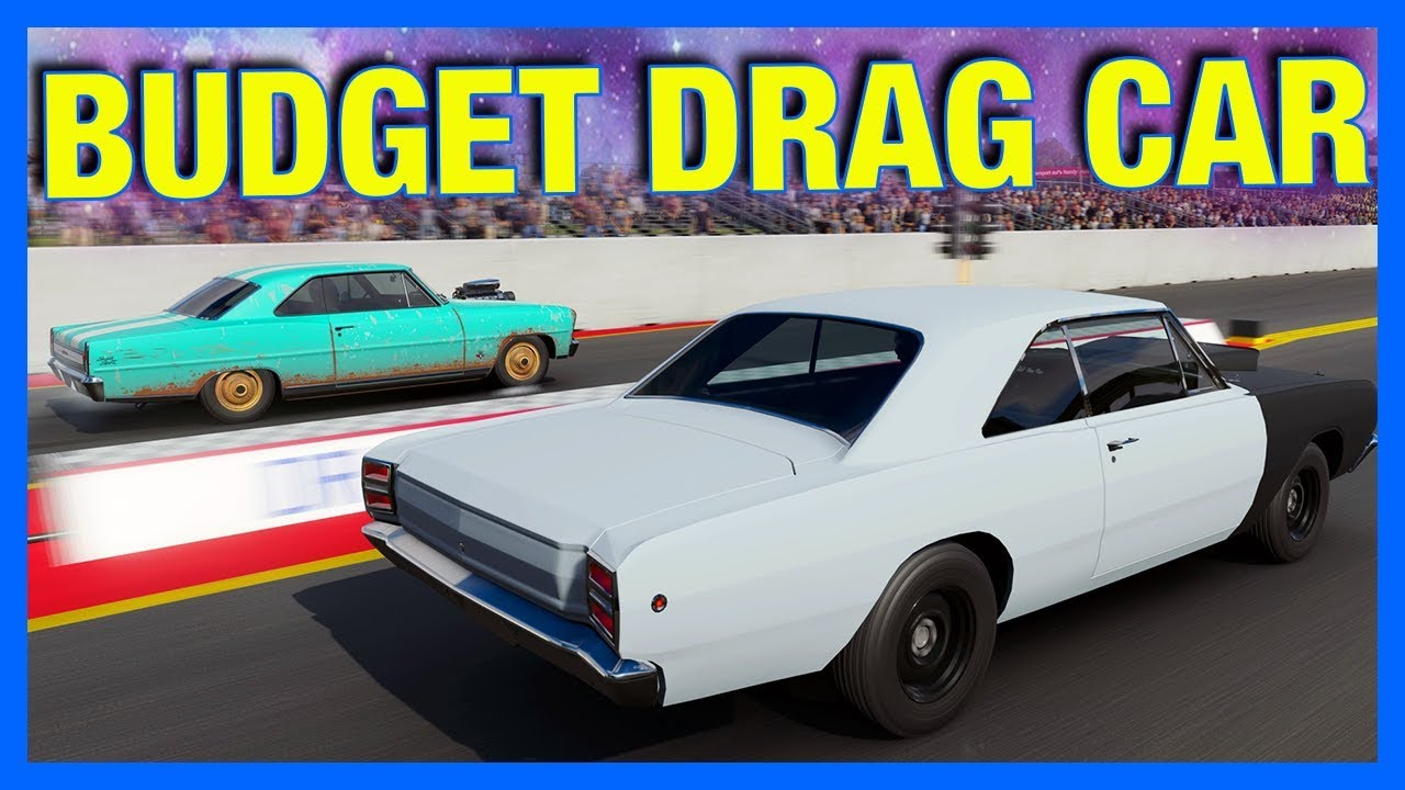 Forza 7 Online : BUDGET DRAG CAR CHALLENGE!! - YouTube