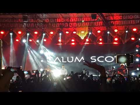 Calum Scott live in Pekanbaru Indonesia Mp3