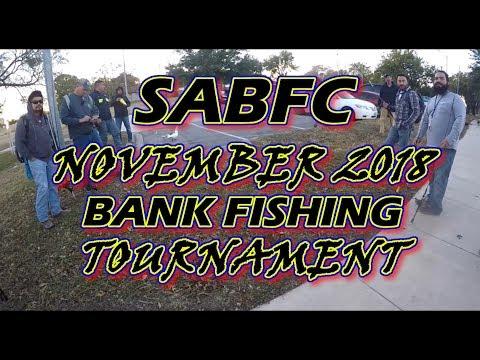 San Antonio Bank Fishing Tournament - November 2018 - Live Oak City Park -#bassfishing #fishing