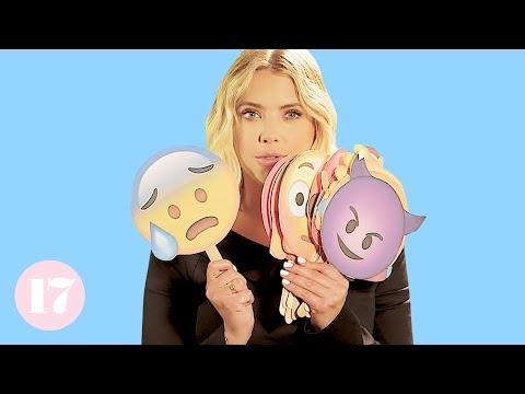 Ashley Benson Reveals Her Most Embarrassing Stories Using Emojis | Seventeen