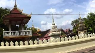 タイ国境ノンカイからラオスのヴィエンチャンまで向かう