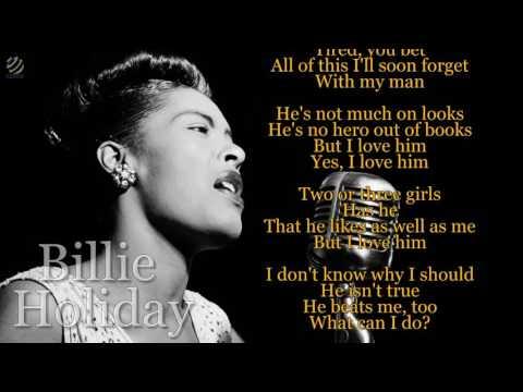 Billie Holiday - My man (videolyric) [HQ]