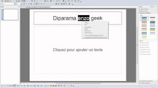 Comment faire un diaporama avec wordpad - Comment faire un diaporama sur open office ...
