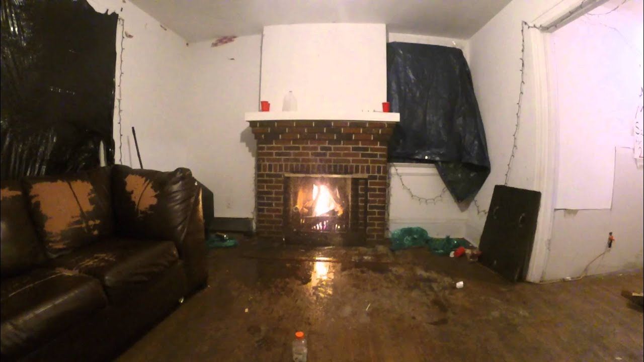 Fireplace Explosion - YouTube