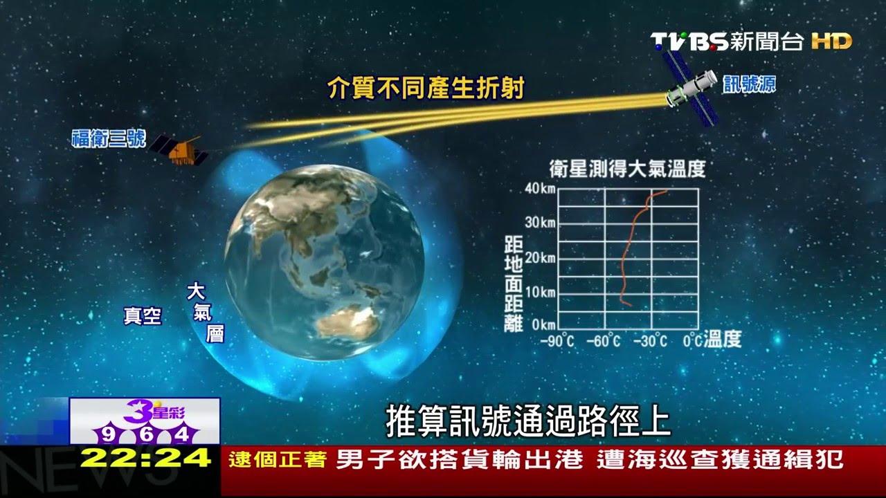 2【科學不一樣】福衛三號應用折射原理 推算地球溫度 - YouTube