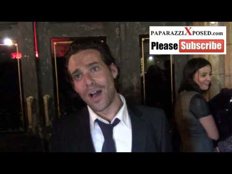 James Callis Talks About His Show Battlestar Gallactica Outside Of Hennessy's Nightclub In Hollywood