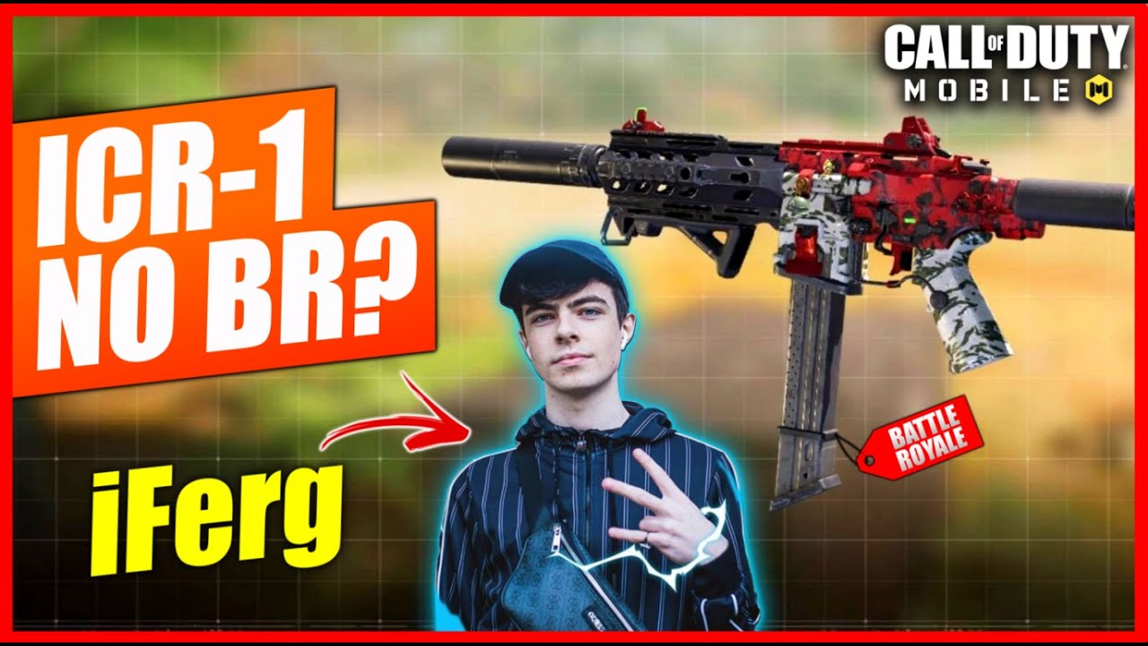 Classe da ICR-1 do iFerg é boa no Battleroyale? Teste no Battleroyale do COD Mobile - Season 10
