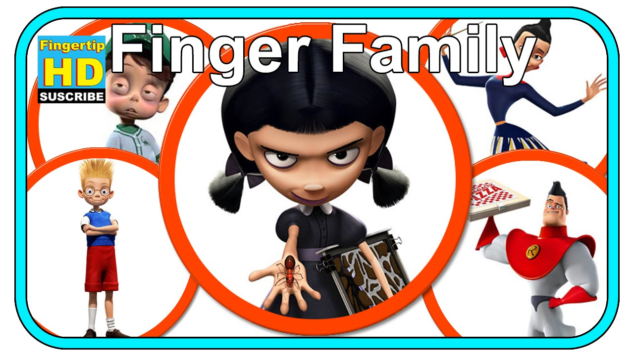 meet the robinsons finger family frozen