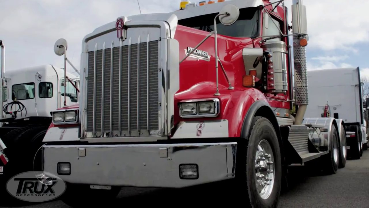 hight resolution of universal led headlight assembly for peterbilt kenworth freightliner and western star