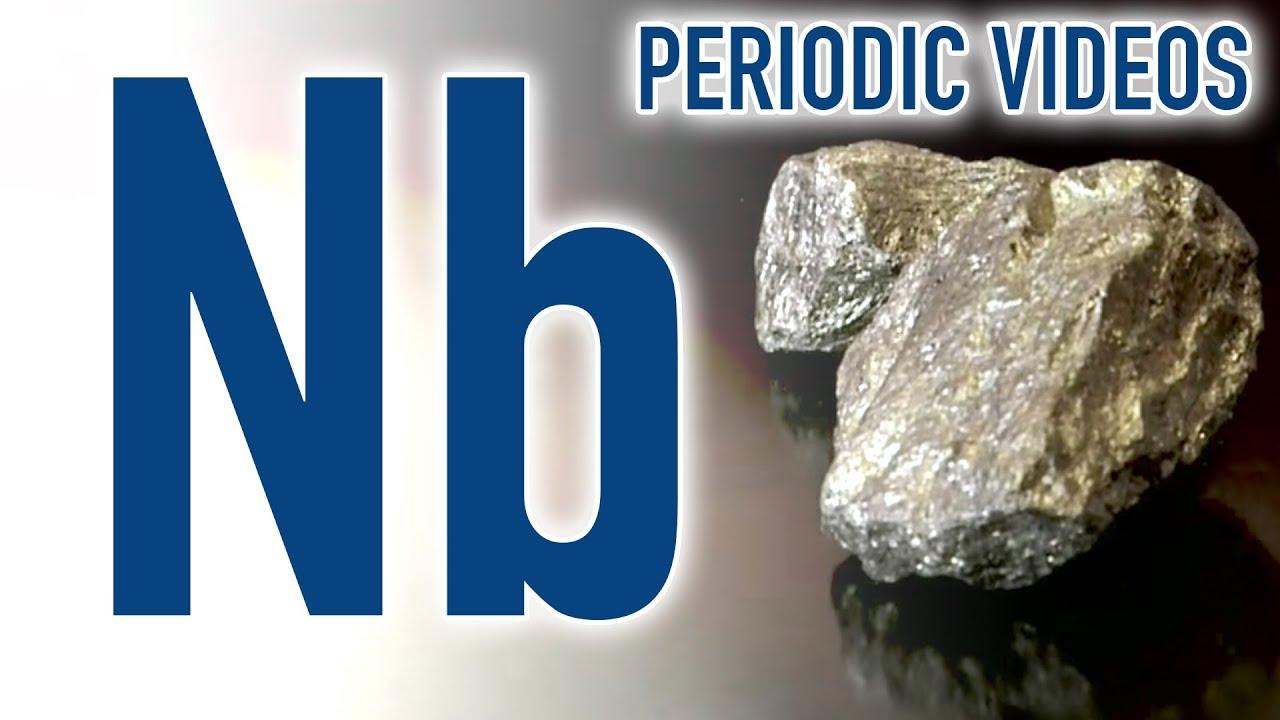 About Niobium >> Niobium Periodic Table Of Videos Youtube