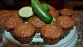 Zucchini Bread Muffins - Recipe By Mommy Is A Chef Episode 20