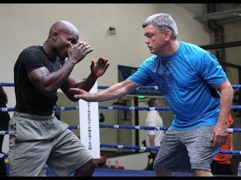 Bradley vs. Rios: Tim Bradley - Workout Interview - Tough Teddy