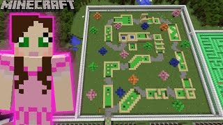 Minecraft: MINIATURE GOLFING GAME - MINE PARK - Custom Map [1]