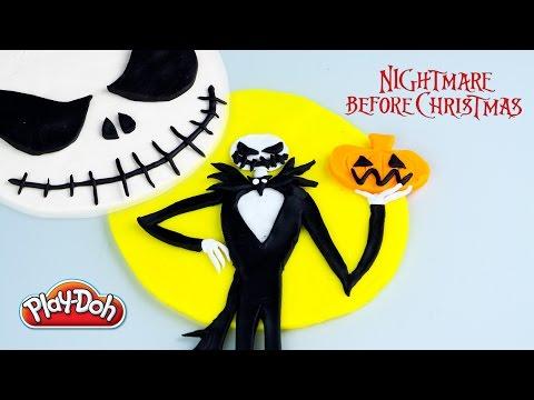 Jack Skellington Play Doh Nightmare Before Christmas - Kinder Playtime