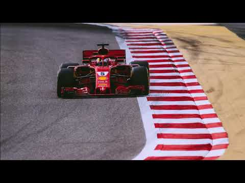 Sebastian Vettel pole position radio celebration - Bahrain GP 2018