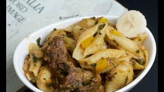 One-Pot Pasta & Beef Ribs (Makarooni Isku-Karis)