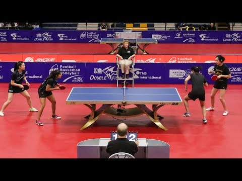 2018 iSET College Table Tennis Championships - Team Finals (Day 2) - Table 1