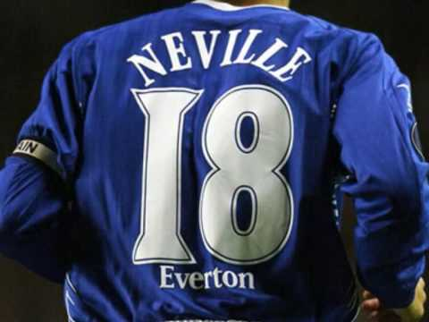 EVERTON SONG: The Ballad of Phil Neville