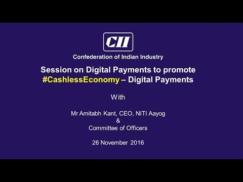 Session on Digital Payments to promote #CashlessEconomy