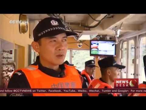 33569 governance 003 012 002 CCTV Patrolling the Mekong River׃ Captain explains hardships, pride of