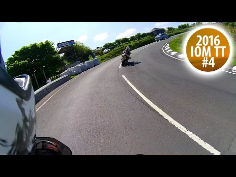 Snaefell Mountain Course 2/2 - Mountain Section RAW - Isle of Man TT 2016 #4