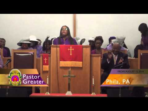"Pastor Tahnaya McCurdy-Peeples ""The Vision Shall Be Revived"""
