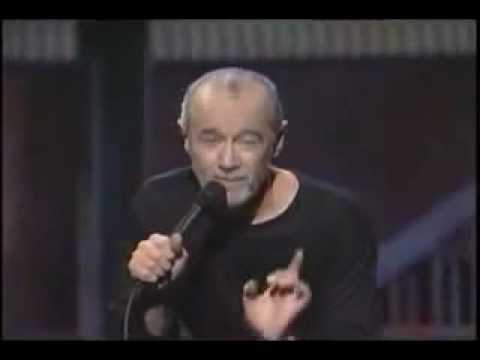 George Carlin  Arrogance of mankind