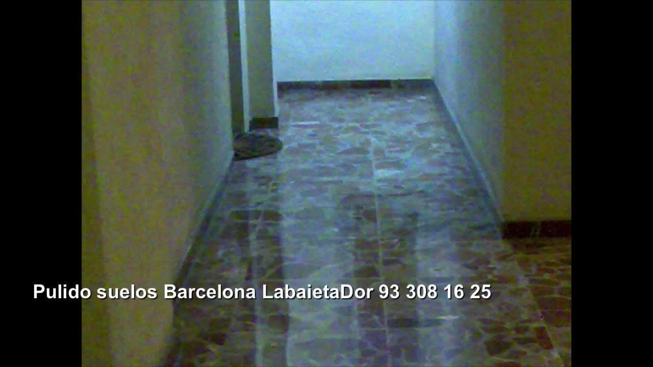 Pulido suelos barcelona labaietador hidr ulicos terrazo for Pisos de bankia barcelona