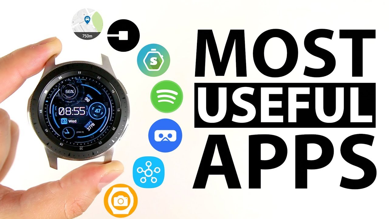 Top 10 Most Useful Samsung Galaxy Watch Apps