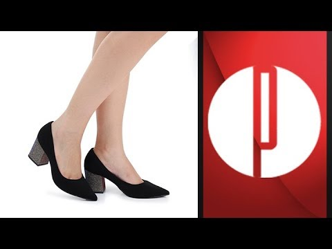 3815f5d4a7 Sapato Scarpin Lara Lurex 6030525612 - YouTube