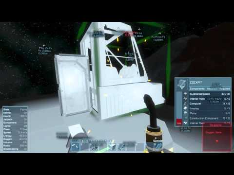 Let's Play Space Engineers EP02, The First Ship