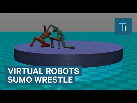 Elon Musk's AI Company Created Virtual Robots That Sumo Wrestle
