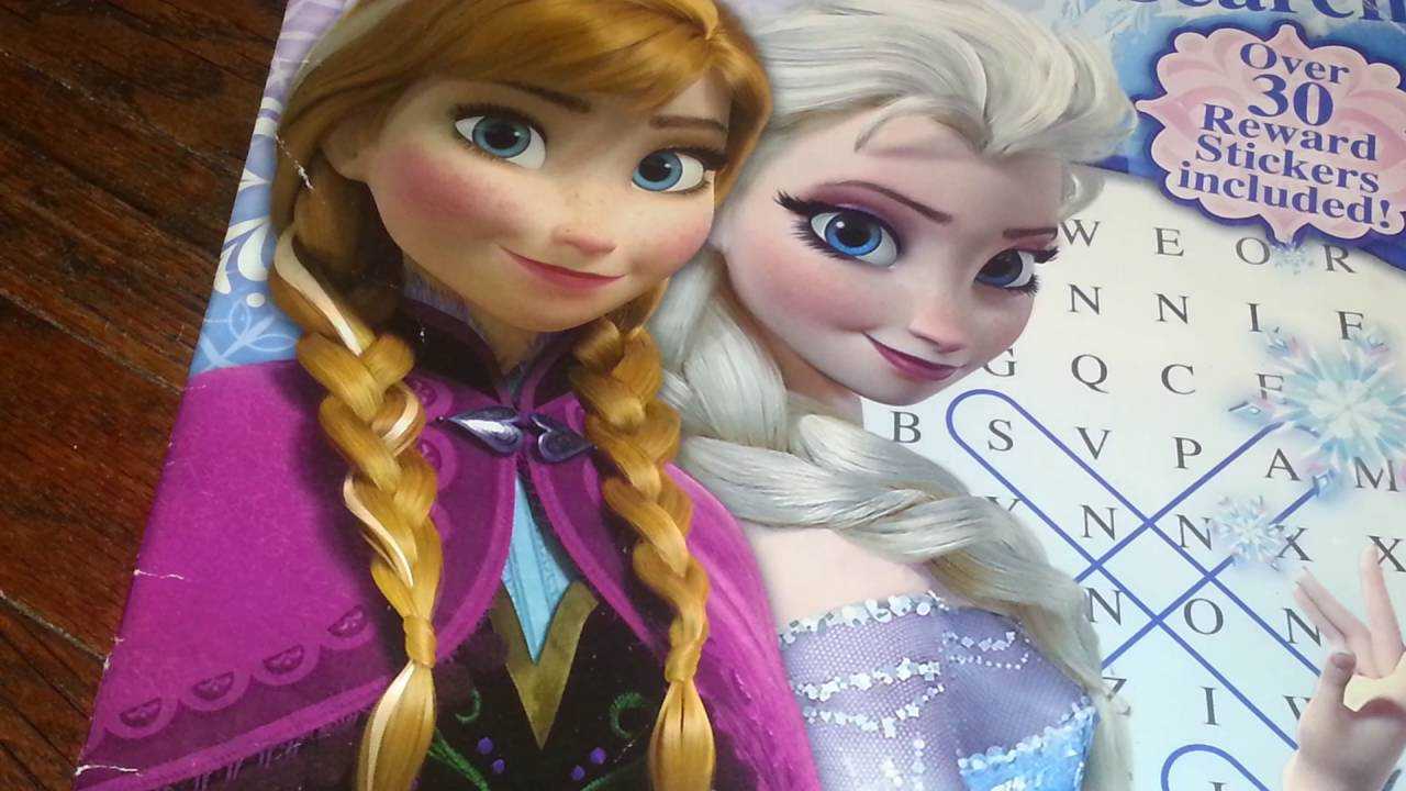 photograph about Frozen Word Searches titled Match Frozen term glance e book!!!! 😘