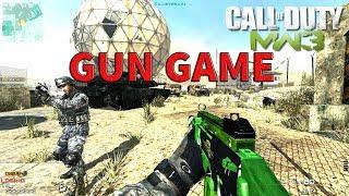 COD MW3 MULTIPLAYER 2018 GUN GAME DZ GAMEPLAY PC