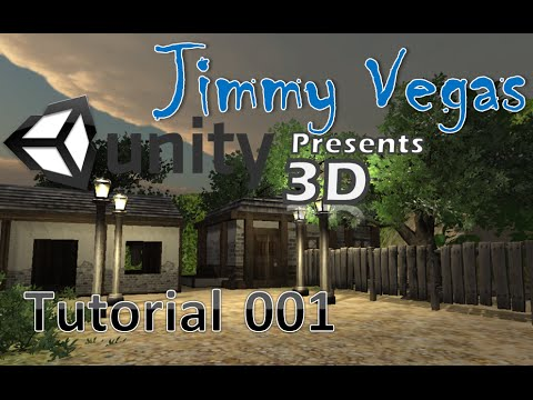Unity 3D Tutorial For Beginners - How To Make A Game - Part 001
