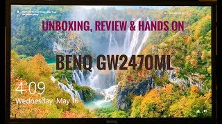 Best Low Budget | BenQ GW2470ML Full HD LED Monitor | Unboxing Review & Hands On