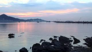 047 Early Morning Sunrise in Dalian, China