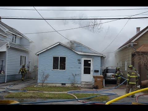 Doyle FD Structure Fire - 106 Hedley St