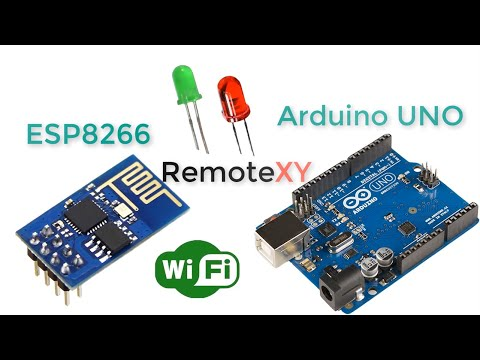 Arduino UNO & ESP8266 And Control Using Smartphone