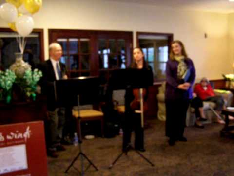 Texas Winds musicians introduce themselves