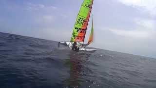 How to capsize a catamaran