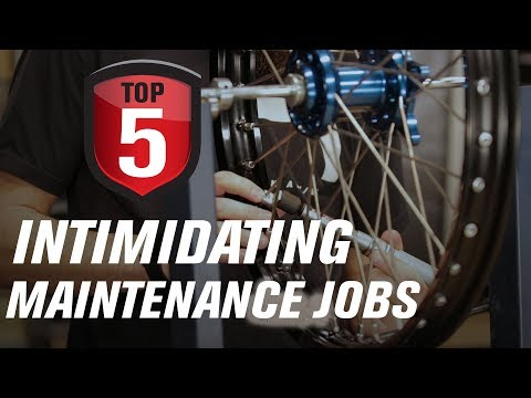 Top 5 Intimidating Dirt Bike Maintenance Jobs