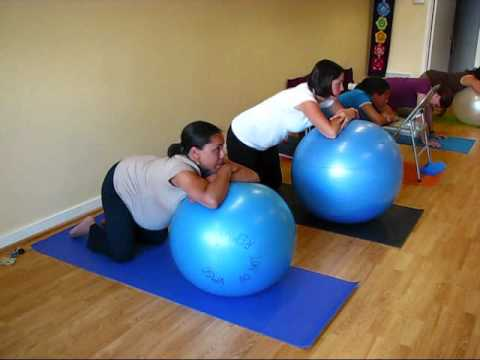 prenatal and labor exercises  YouTube