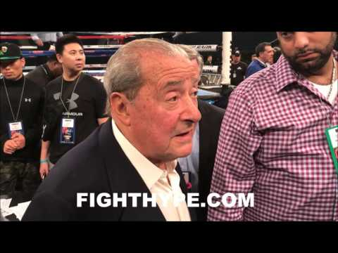 BOB ARUM REACTS TO TERENCE CRAWFORD CALLING OUT KEITH THURMAN; FIRES SHOT AT ADRIEN BRONER